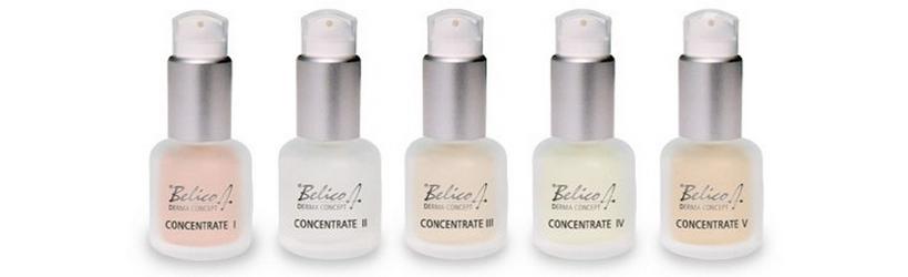 Belico kozmetikai koncentrátumok